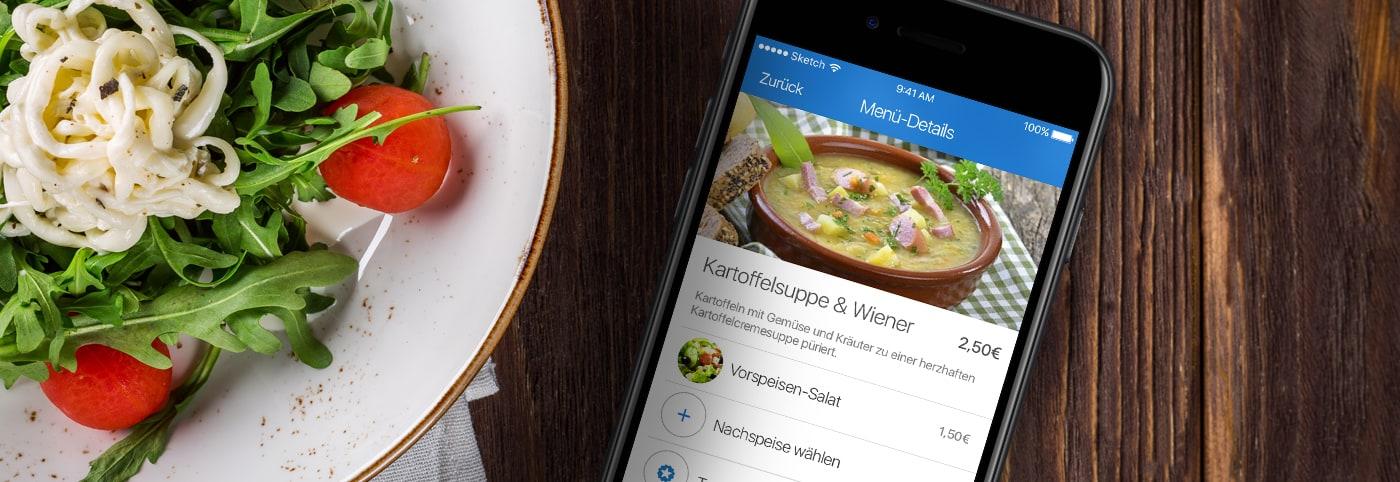 Digitales Kantinen- und Restaurant-System
