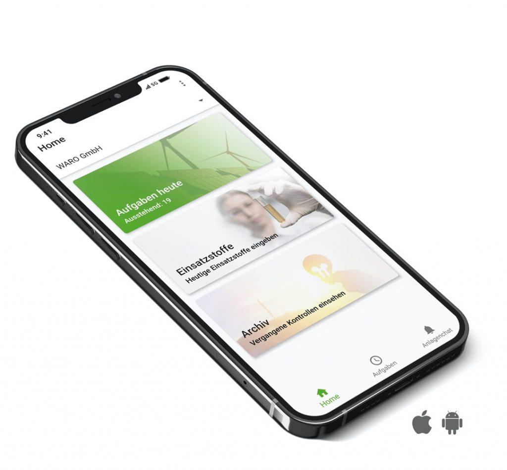 sm-energy Mobile App für Digitalisierung im Unternehmen